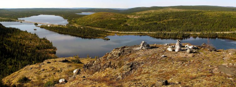 Lac Daigle à Fermont 19-06-2009 F
